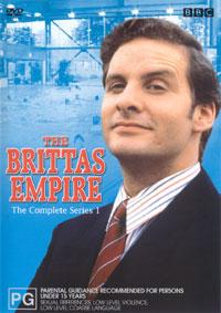 The Brittas Series 1 Region 4 cover.