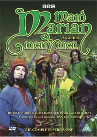 Maid Marian Series 1 DVD cover. I'll repeat: MAID MARIAN SERIES 1 DVD COVER.