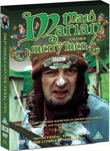 Maid Marian Series 2 DVD Cover. Oooooh, FUNNY FACE.