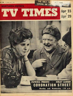 An old TV Times cover.